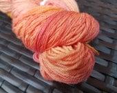 Candlemas: 100g hand painted superfine merino/nylon sock yarn
