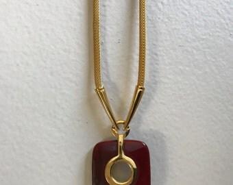 Crown Trifari Mod Necklace