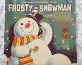 Frosty The Snowman Vintage Christmas Album The Caroleer Singers and Orchestra Diplomat Records Vintage Holiday Music Record