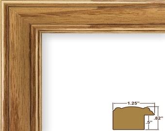 craig frames 24x36 inch honey oak picture frame wiltshire 595 125 inch wide 595041002436