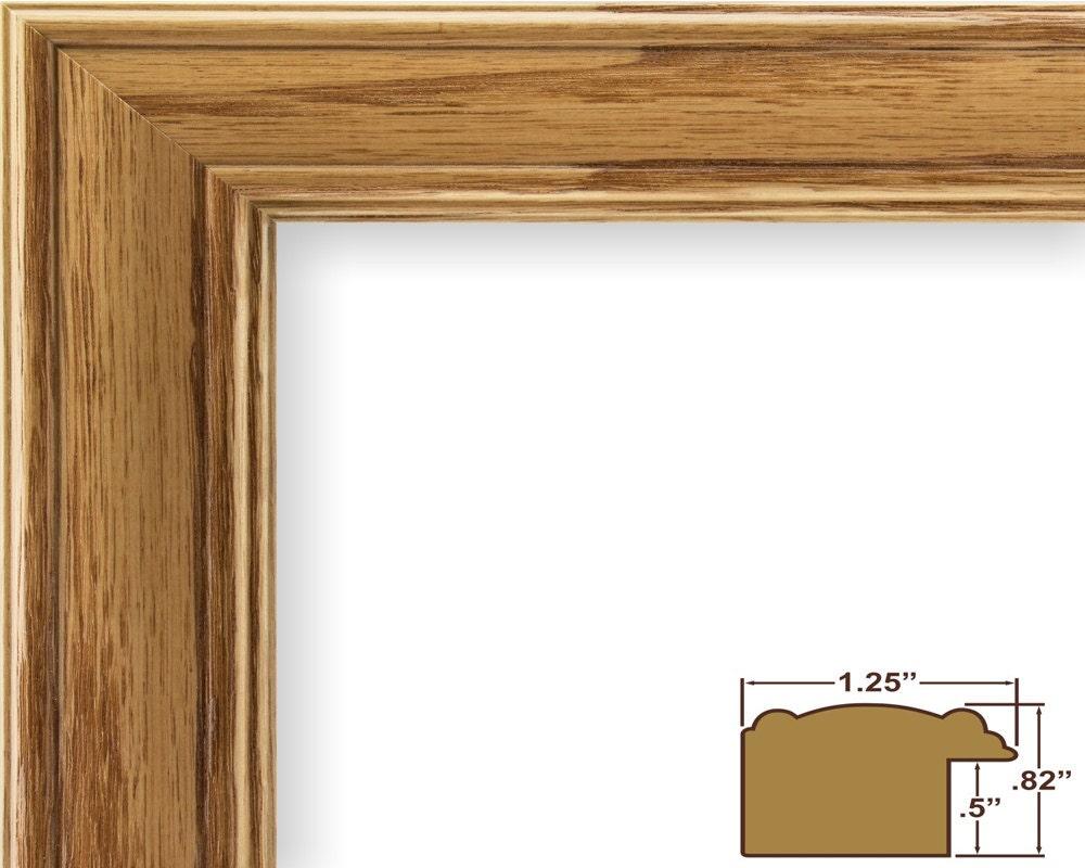 Craig Frames 24x36 Inch Honey Brown Picture Frame Wiltshire