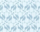 Pond - Cranes in Fog - Elizabeth Hartman for Robert Kaufman Fabrics - AZH-16618-336 - 1/2 yard