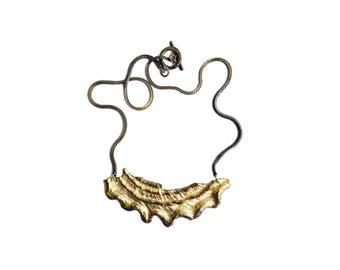 Astrea Necklace Brass Short