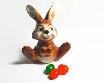 Vintage Goebel Rabbit Big Foot Bunny 1970s