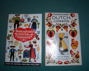 Vtg. Cookbooks...1967 Pennsylvania Dutch Cookbook and 1978 Pennsylvania Dutch Cooking...Culinary Arts Press..