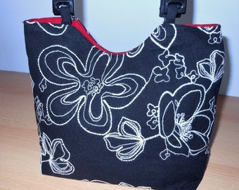 A Sweet Black Handled Handbag/Purse