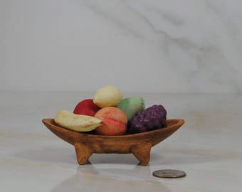 Vintage Miniature Ceramic Fruit Bowl