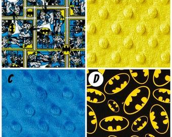 Crib Bedding Batman Superhero Comic Book Black White Gray Grey