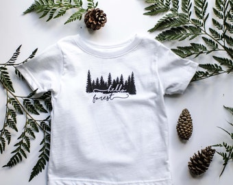 """Infant/Toddler """"Hello Forest"""" TShirt"""