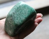 China Jade Large 14 ounce Palm Stone #81241