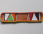 Maasai Beaded Watch Strap KWB 08