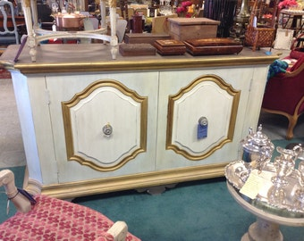 French Buffet or Sideboard Shabby Chic- San Mateo