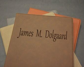 Engraved Portfolio, Personalized Portfolio, Engraved, Personalized, Padfolio, Portfolio, Notepad