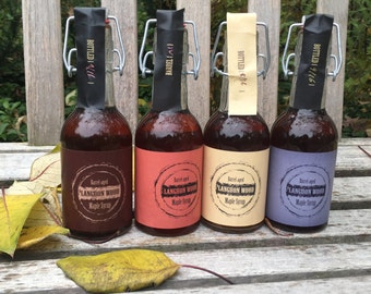 QUATTRO - Four Flavors of Barrel-aged Maple Syrup