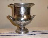 Large Trophy Style Urn / Trophy Vase