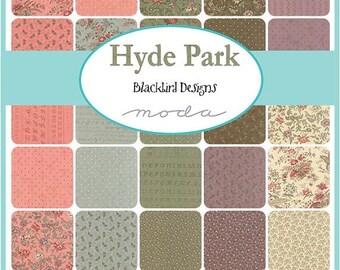On Sale Hyde Park Fat Quarter Bundle by Blackbird Designs for Moda - One Fat Quarter Bundle - 27660AB