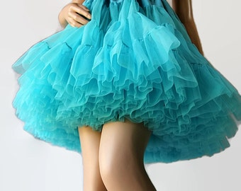 Blue Petticoat, Swing Square Dance,  Circle Skirt
