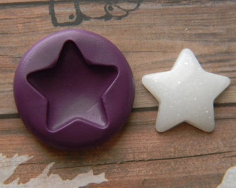 Flexible Mold - Puffy Star #2
