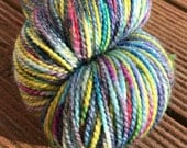 Crayon sock yarn