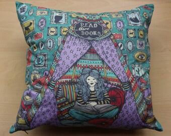 Read More Books - Cushion