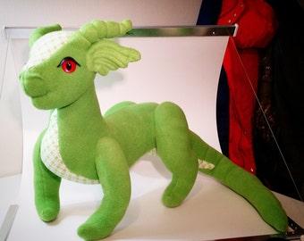 Large Dragon Stuffed Plush Ready To Ship