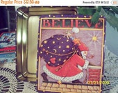 GIFTS ON SALE Mary Engelbreit's Believe Metal Collectible Tin
