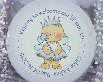 Baby Shower Favors - Baby Girl - Princess Favors - Whipped Body Butter - Personalized Favors - Unique Favors