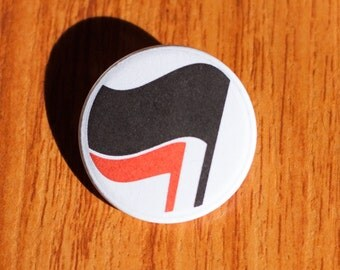 "Anti-Fa - 1.25"" Pinback Button"