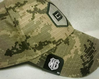Brim-It Hat Clip- Shield Monogram