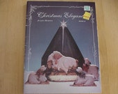 Christmas Elegance, Book II, 1991 Tole Painting Pattern Book, Juliet Martin, Nativity, 3 Kings, Sleigh and Horse