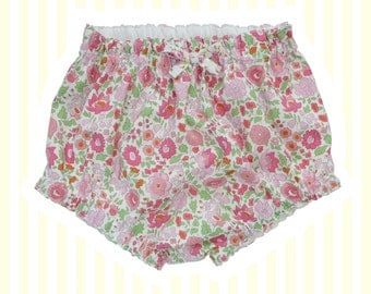 Liberty Tana Lawn Diaper Nappy Covers | Pink D'Anjo