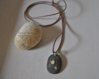 Natural jewelry - unique necklace - tribal - urban organic eco friendly