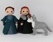 Catelyn, Sansa and Lady