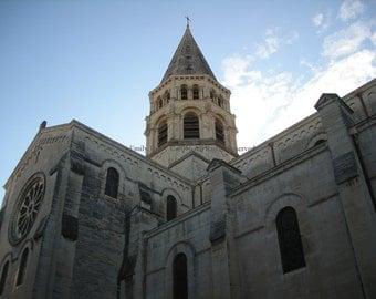 Original Photograph (Matted): Saint-Paul de Nimes