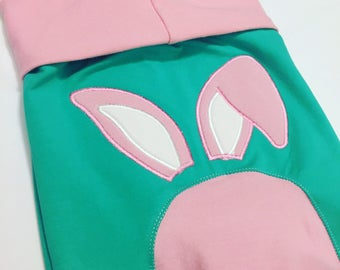 Maxaloones // Easter Bunny // Easter outfit // Grow With Me Pants