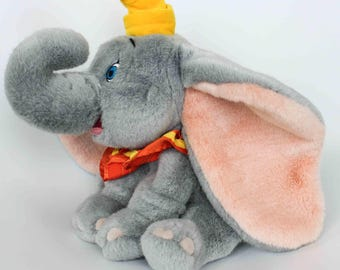 "Disney Store Dumbo Plush 12"" Soft Stuffed Animal Elephant"