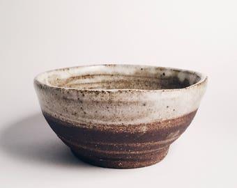 Small Dark Stoneware Bowl