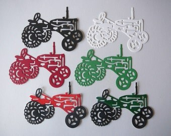 Tractor Die Cut For Scrapbook & Card Embellishments