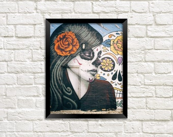 Day of the Dead - Mural - Street Art - Photography - Photo Print
