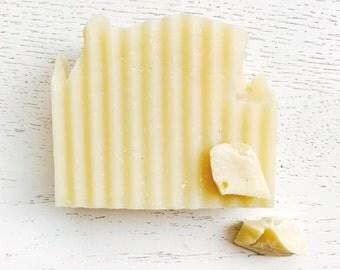 Cocoa Butter All Natural Handmade Soap - Vegan Soap - Cold Process- unrefined cocoa butter