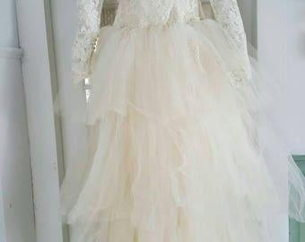 1940 Vintage Wedding Gown