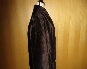 Vintage Fake Fur Vegan Cruelty Free NPC Fashions Size Large