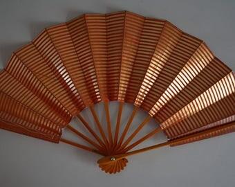 Dance fan, Japanese mai ogi, vintage Japanese maisen hand fan