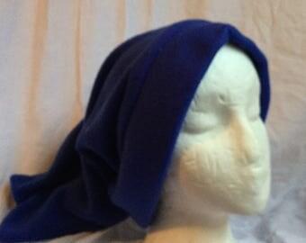 Dark Blue Fleece Stocking Hat