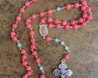 Our Lady of Guadalupe Coral Rosary