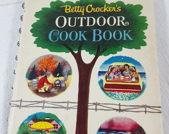 Betty Crocker Outdoor Cookbook, Vintage 1961