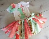 WILD ONE Tutu Set/1st Birthday Outfit/Baby GirlTutu OutfitTribal Tutu Outfit