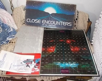 1978,Close Encounters Board Game Of the Third Kind ,Vintage Board Game, Board Game, Movie Board Game, Not Included in Coupon Sale
