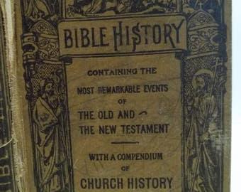Vintage 1919 Bible History  Benziner Brothers