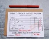 Thank You Teacher Card, Card for Teacher, Child's card